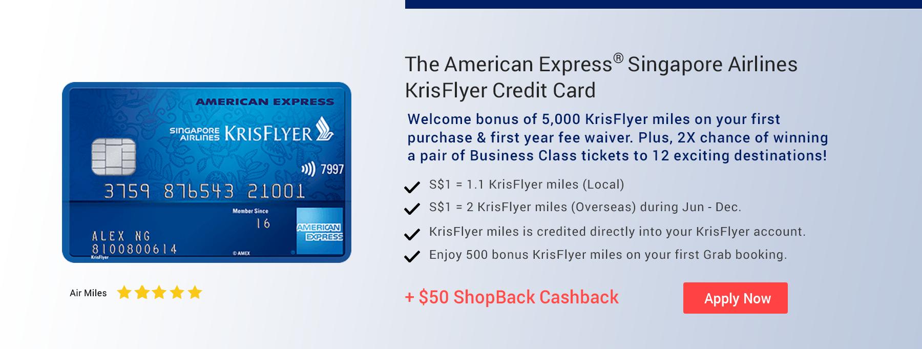KrisFlyer Credit Card