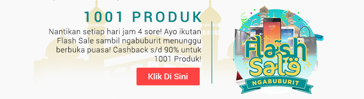 Flash SALE Gebyar Ramadhan