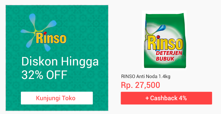 Promo Unilever Rinso
