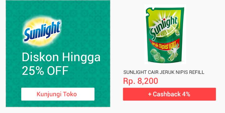 Promo Unilever Sunlight