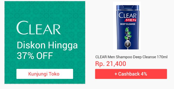 Promo Unilever Clear