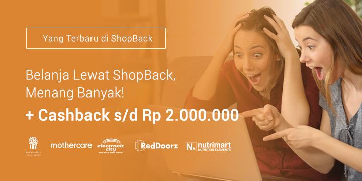 Merchant terbaru di ShopBack