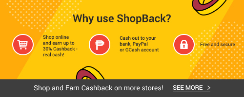 See more popular stores where you can earn Cashback!