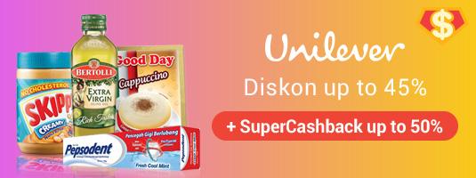 Super Cashback Unilever