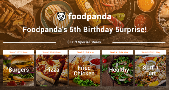Foodpanda's 5th Birthday