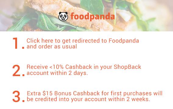 Foodpanda X PaulSG X ShopBack