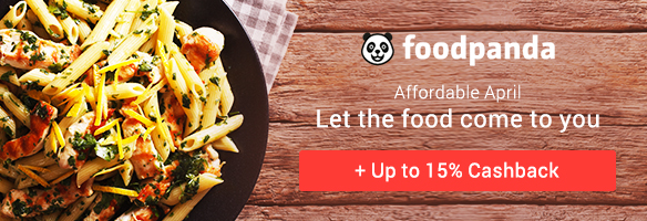 Order food online from foodpanda and get 7% Cashback
