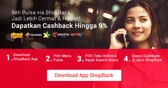Promo Pulsa ShopBack