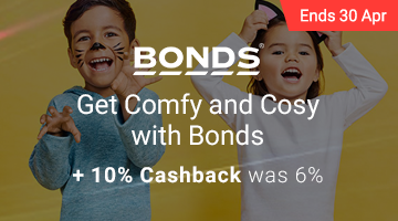 Bonds Super Cashback