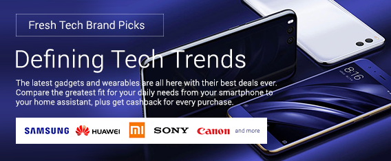 Get the latest gadgets and computers on discount + Up to 9% Cashback from ShopBack