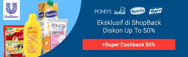 Promo Super Cashback Unilever