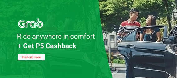 Get P5 Cashback on all your GrabCar rides!