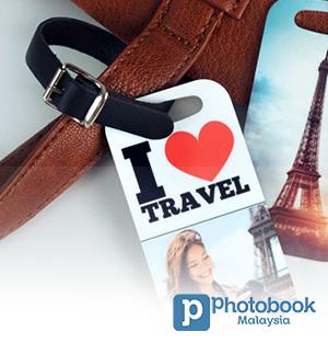 Photobook Luggage Tags