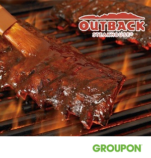 Outback Steakhouse: $24.90 for a Rib, Steak, or Chicken Meal