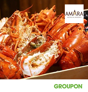$75 for a Lunch Buffet for 2 People at Element, Amara Singapore (worth $115.34)