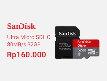 Ultra Micro SDHC 80MB/s 32GB Class 10