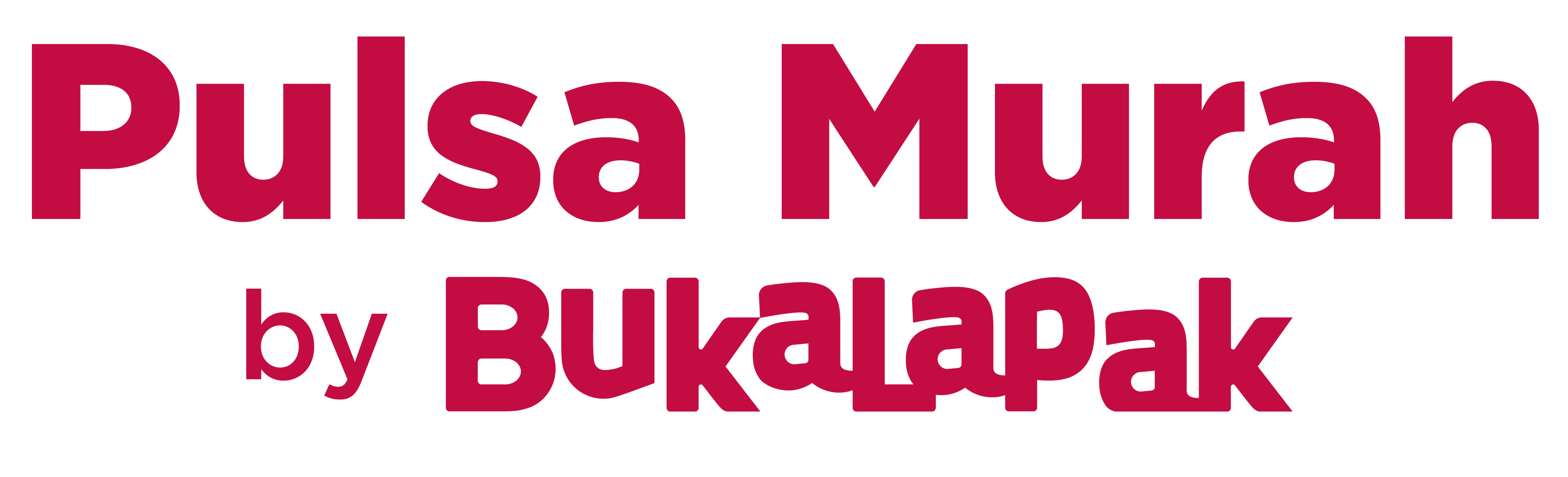 Promo Pulsa by Bukalapak